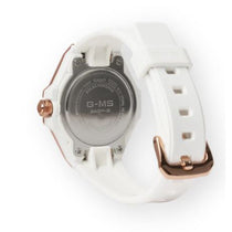Ladies White G-Shock Resin Strap Analogue Casio Watch MSGS500G-7A2