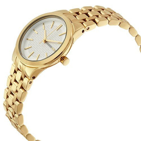 Ladies Gold Park slope Stainless Steel Analogue DKNY Watch NY2491