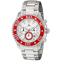 Men's Silver Dive Stainless Steel Chronograph Seapro Watch SP1324
