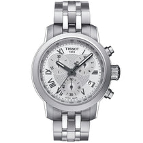 Ladies Designer Silver PRC Chronograph Tissot Watch T055.217.11.033.00