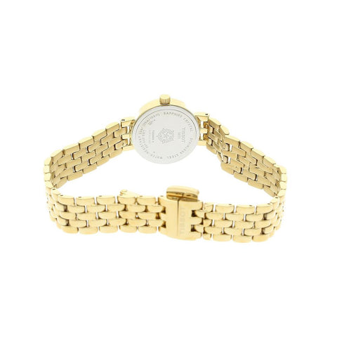 Ladies Designer Gold T-Lady Lovely Tissot Bracelet Watch T058.009.33.031.00