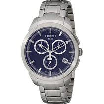Men's Blue Titanium Analogue Tissot Watch T0694174404100