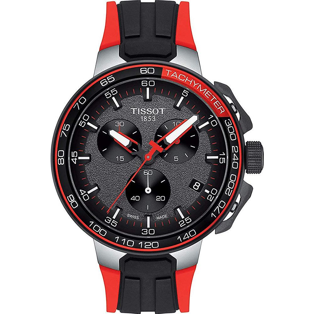Men's Red T-Race Cycling Chronograph Tissot Watch T111.417.27.441.00