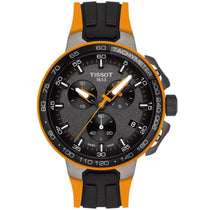 Men's Orange T-Race Cycling Chronograph Tissot Watch T111.417.37.441.04