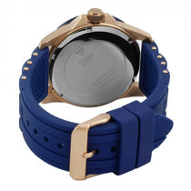 Men's Blue Oasis Rubber Chronograph Guess Watch W0366G4