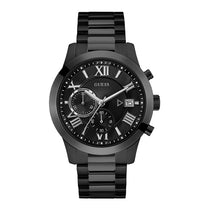 Men's Black Classic Stainless Steel Chronograph Guess Watch W0668G5