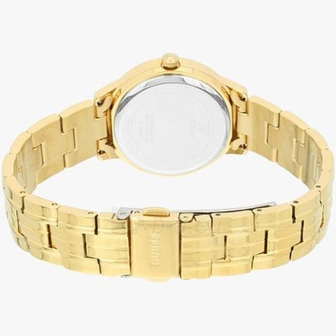 Men's Gold Chelsea Stainless Steel Analogue Guess Watch W0989L2