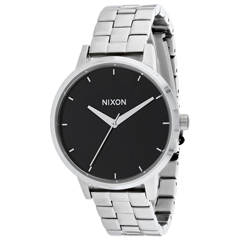 Ladies Silver Kensington Stainless Steel Analogue Nixon Watch A099-000