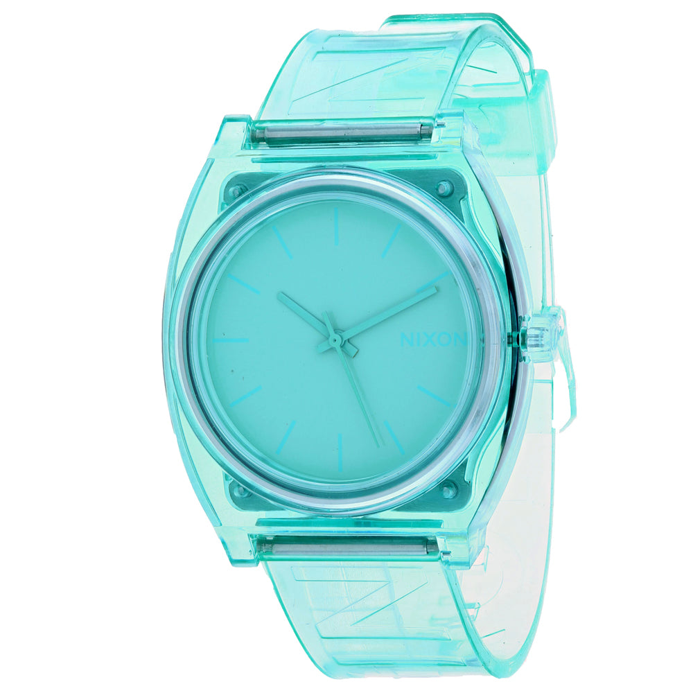 Ladies Green Time Teller P Plastic Analogue Nixon Watch A119-3145