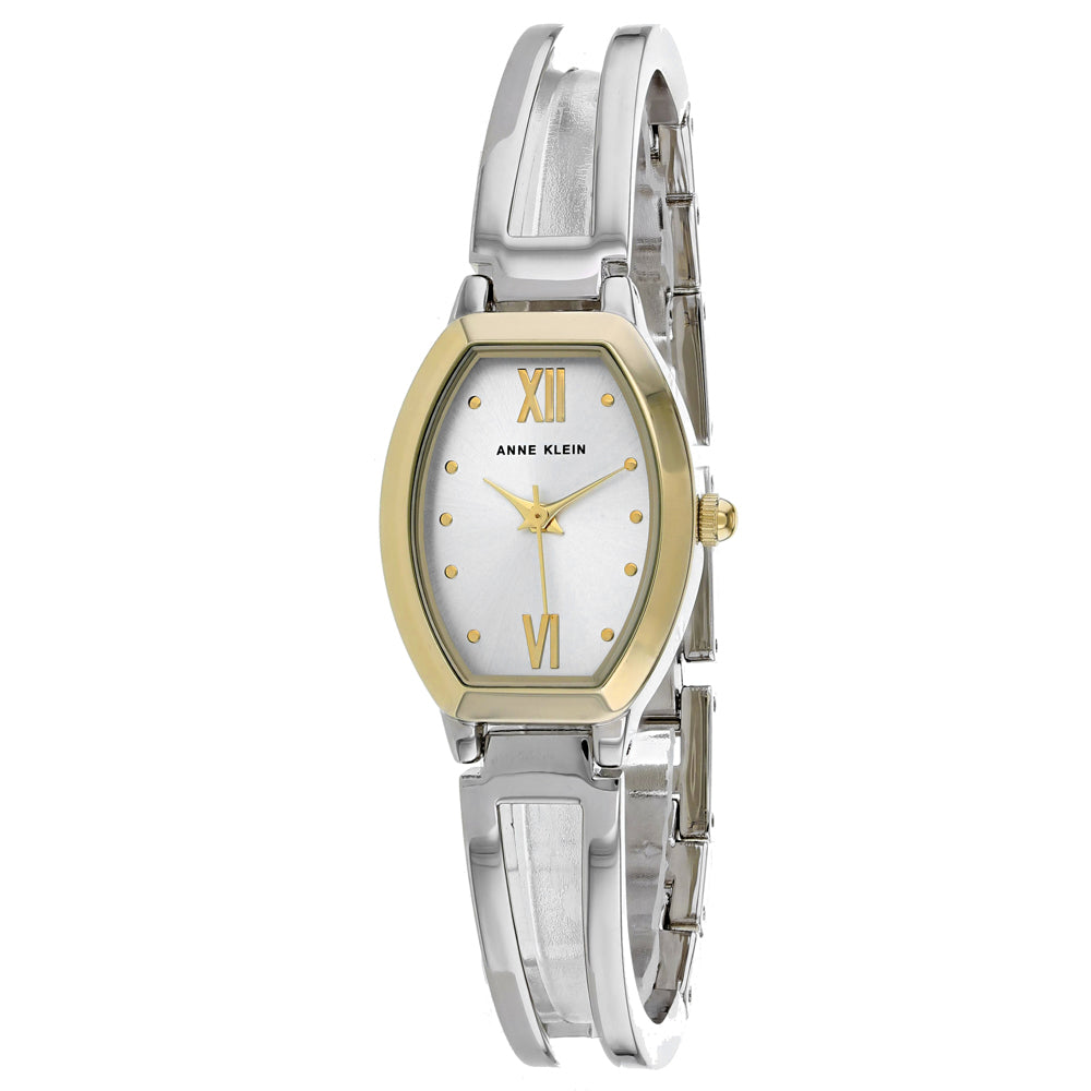 Ladies Silver Classic Stainless Steel Analogue Anne Klein Watch AK-2041SITT