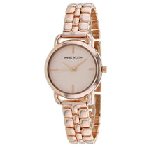 Ladies Rose Gold Classic Stainless Steel Analogue Anne Klein Watch AK-2730RGRG