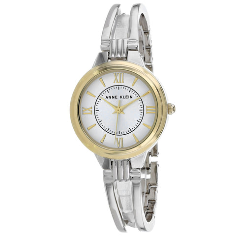 Ladies Silver Classic Stainless Steel Analogue Anne Klein Watch AK-2735SVTT
