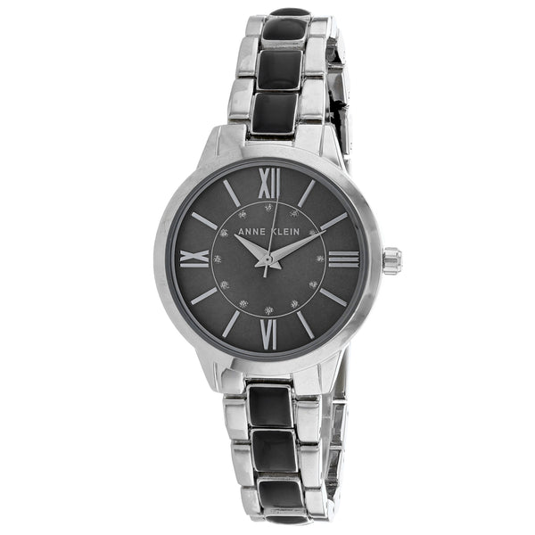 Women's Two Tone Classic Stainless Steel Analogue Anne Klein Watch AK-3329GYSV