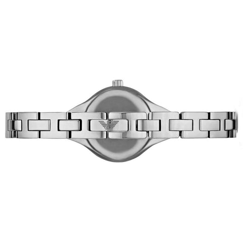 Ladies Silver Stainless Steel Bracelet Emporio Armani Watch AR7361