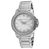Men's Silver Classic Stainless Analogue Armani Exchange Watch AX1900