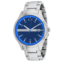Men's Silver Classic Stainless Analogue Armani Exchange Watch AX2408