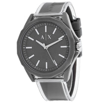 Men's Grey Classic Polyurethane Analogue Armani Exchange Watch AX2633