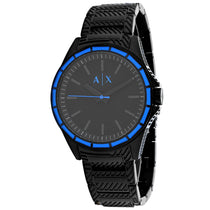 Men's Black Classic Stainless Steel Analogue Armani Exchange Watch AX2634