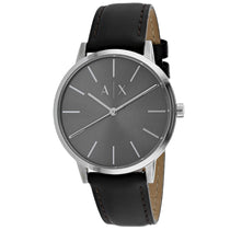 Men's Brown Classic Leather Analogue Armani Exchange Watch AX2704