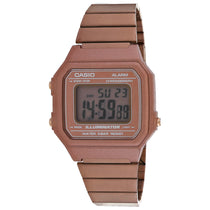 Men's Rose Gold G-Shock Stainless Steel Analogue Casio Watch B650WC-5AVT