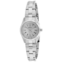 Ladies Silver Classic Stainless Steel Analogue Mathey Tissot Watch D452BR