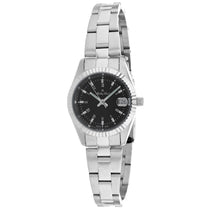Ladies Black Classic Stainless Steel Analogue Mathey Tissot Watch D452PCH