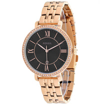 Ladies Rose Gold Jacqueline Stainless Steel Analogue Fossil Watch ES4723