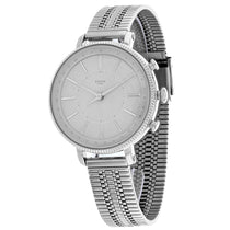 Ladies Grey Hybrid Smartwatch Cameron Stainless Steel Analogue Fossil Watch FTW5055