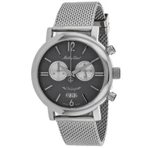 Men's Black Classic Stainless Steel Chronograph Mathey Tissot Watch H41CHTS