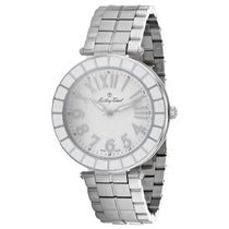 Men's White Mosaique Stainless Steel Analogue Mathey Tissot Watch H6001ABL