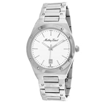 Men's Grey Eliser Stainless Steel Analogue Mathey Tissot Watch H680AS