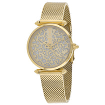 Ladies Gold Animalier Stainless Steel Analogue Just Cavalli Watch JC1L085M0065