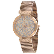 Ladies Rose Gold Animalier Stainless Steel Analogue Just Cavalli Watch JC1L092M0085