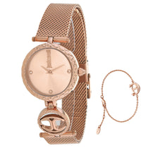 Ladies Rose Gold Mini Stainless Steel Analogue Just Cavalli Watch JC1L103M0075