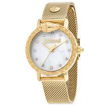 Ladies Gold Animalier Stainless Steel Analogue Just Cavalli Watch JC1L124M0075