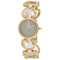 Ladies Gold Dress Stainless Steel Analogue Just Cavalli Watch JC1L132M0075