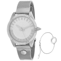 Ladies Grey Classic Set Stainless Steel Analogue Just Cavalli Watch JC1L133M0055