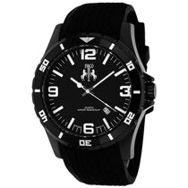 Men's Black Ultimate Rubber Analogue Jivago Watch JV0110