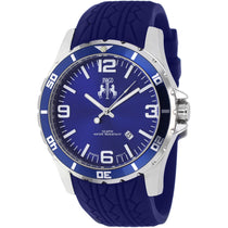 Men's Blue Ultimate Rubber Analogue Jivago Watch JV0115