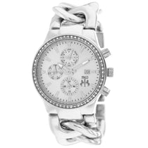 Ladies Silver Lev Stainless Steel Chronograph Jivago Watch JV1226