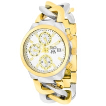 Ladies Silver-Gold Tone Levley Stainless Steel Analogue Jivago Watch JV1241