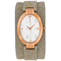 Ladies Light Brown Good Luck Leather Analogue Jivago Watch JV1832