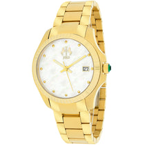 Ladies Gold Tone Jolie Stainless Steel Analogue Jivago Watch JV3214W