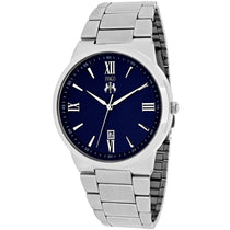 Men's Blue Clarity Stainless Steel Analogue Jivago Watch JV3517