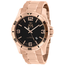 Men's Rose Gold Ultimate Stainless Steel Analogue Jivago Watch JV6112