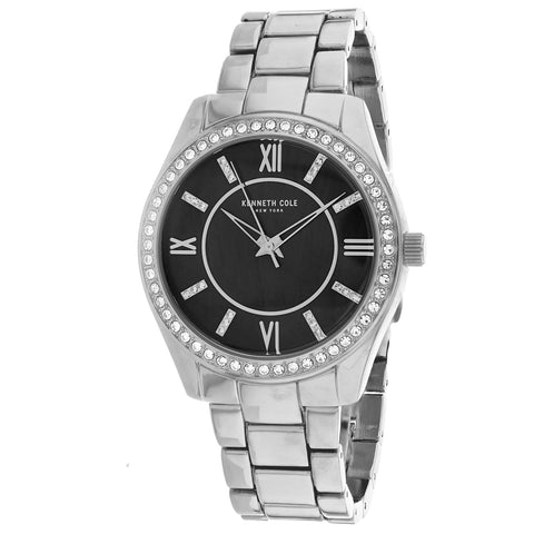 Ladies Silver Classic Stainless Steel Analogue Kenneth Cole Watch KC50739002