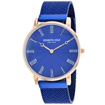 Men's Blue Classic Stainless Steel Analogue Kenneth Cole Watch KC50954003