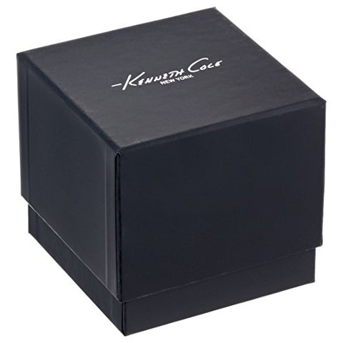 Women's Black Classic Leather Analogue Kenneth Cole Watch KC15187007