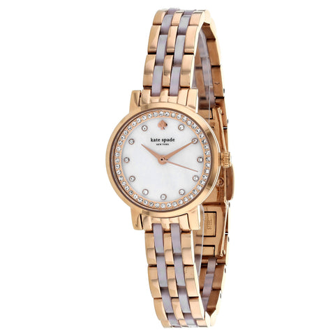 Ladies Silver Mini Monterey Stainless Steel Analogue Kate Spade Watch KSW1265