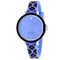 Ladies Blue Park Rubber Analogue Kate Spade Watch KSW1568